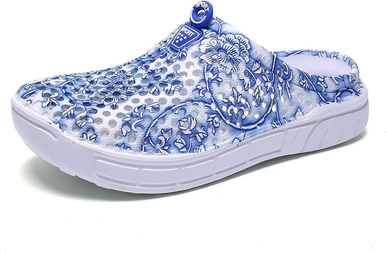 CERYTHRINA Women's Lightweight Mesh Breathable Quick Drying Sandals Slippers Beach Footwear Anti-Slip Garden Clog Shoes