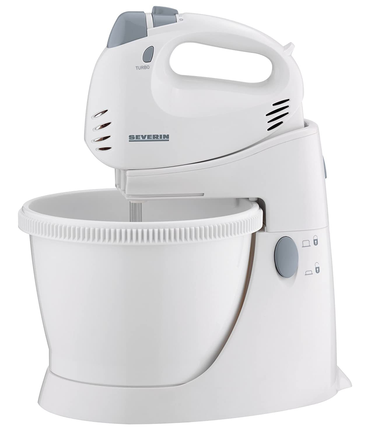 Severin Food Mixer HM 3817, Plástico, Blanco, Azul, 250 W ...