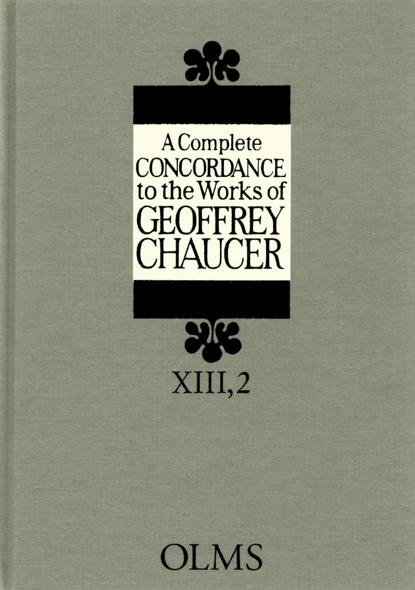 A Lexical Concordance to the Works of Geoffrey Chaucer, Vol. 2: E-L (A Complete Concordance to the Works of Geoffrey Chaucer) ebook