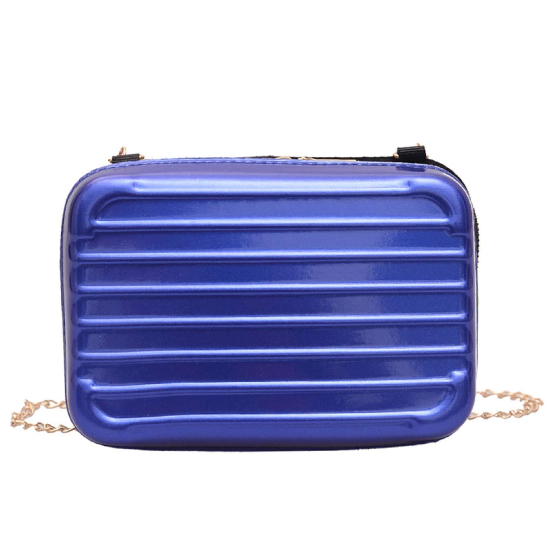 Women Square Bags Leisure Mini Chain Suitcase single-shoulder Bag Messenger Bags by Leedford (Image #1)