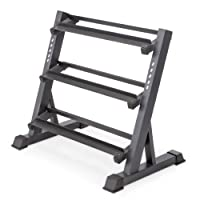 Deals on Marcy 3 Tier Metal Steel Home Workout Gym Dumbbell Weight Rack