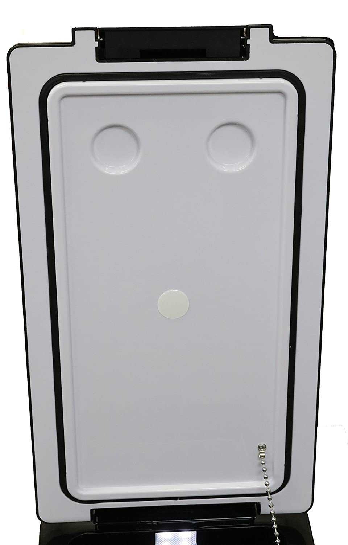 Premium 42L Portable Automotive Refrigerator Fridge Universal for Cars Trucks SUVs Matte Black