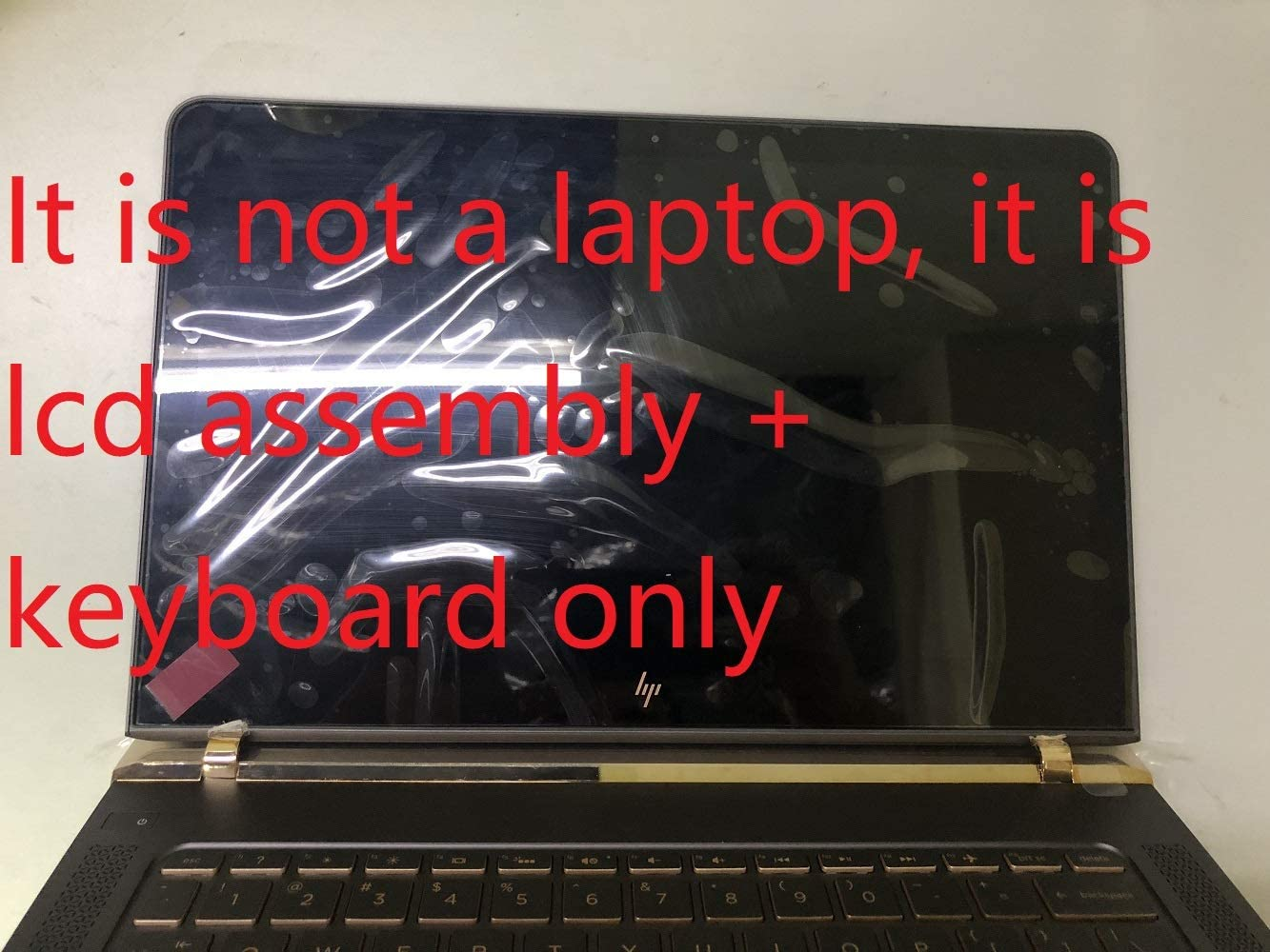 "New 13.3"" FHD (1920x1080) LCD LED Screen Assembly with Keyboard Palmrest Cover For HP Spectre 13-V 13-V011DX 13-V111DX"