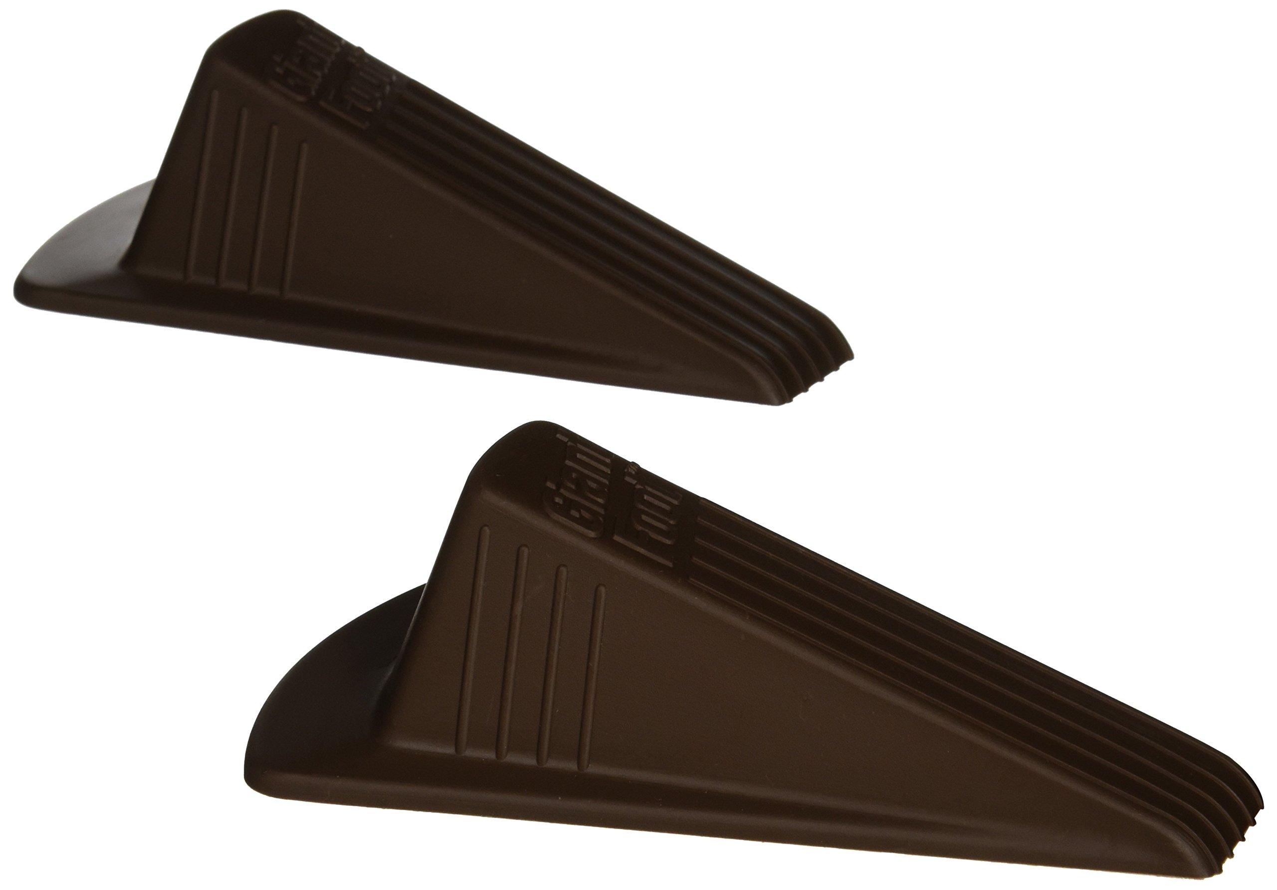 Giant Foot Doorstop, 6-3/4'' x 3-1/2'' x 2'', Brown, 2/Pack (00969)