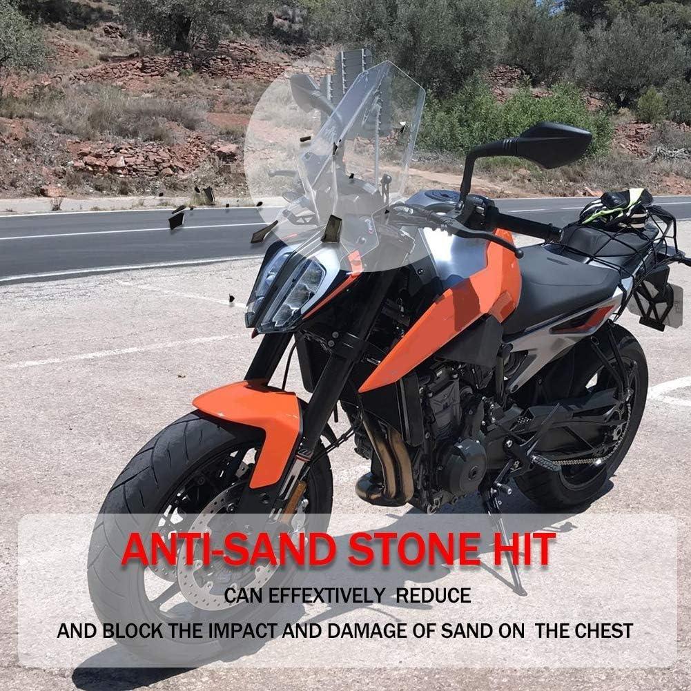 Humo Ligero Soporte de Montaje de Protector de Deflector de Parabrisas de Motocicleta para 2018 2019 KTM 790 Duke Duke790
