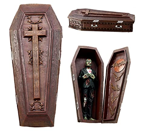 Amazon com: Atlantic Collectibles Vampire Coffin Bed Jewelry