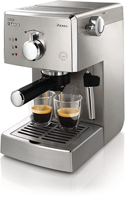 Saeco Poemia HD8427/09 - Cafetera (Independiente, Máquina ...