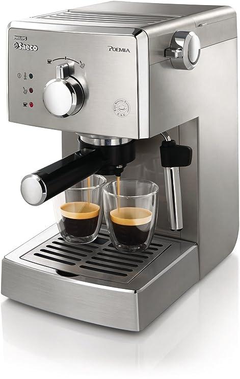 Saeco Poemia HD8427/09 - Cafetera (Independiente, Máquina espresso, 1 L,