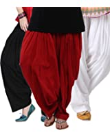 Shiva Collections Womens Cotton Salwar Bottom (Scs1029 _Mulit-Coloure _Free Size)