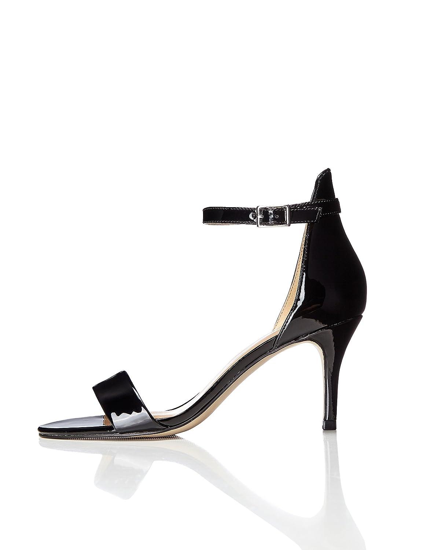 FIND Tacco Sandalo con Tacco FIND Donna Nero (Black) 47a82c