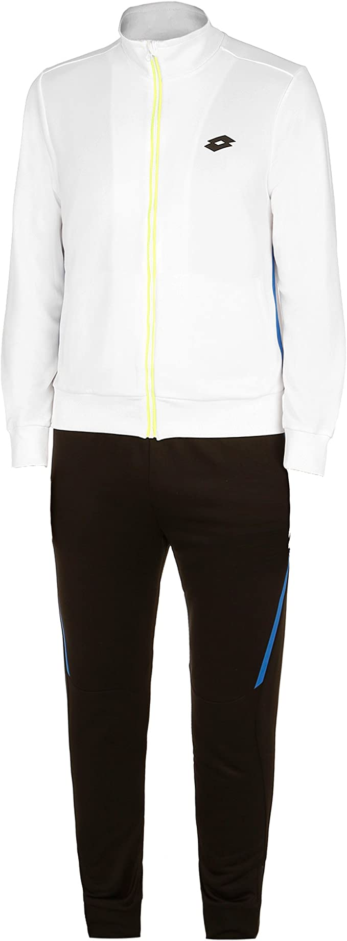 Lotto AYDEX IV Suit - Chándal, Hombre, Blanco(Wht/BLK): Amazon.es ...