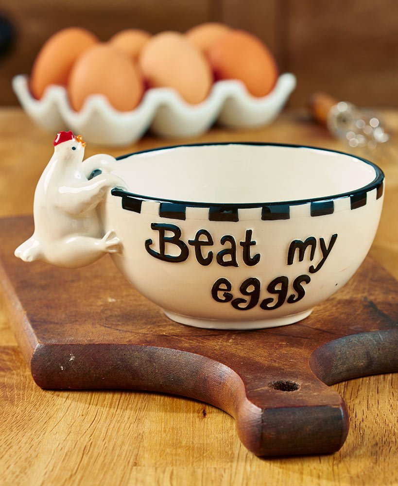 The Lakeside Collection Beat My Eggs Bowls