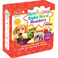 Nonfiction Sight Word Readers Parent Pack 1: 25 Easy-To-Read Books That Teach Sight Words 1-25: Teaches 25 Key Sight…