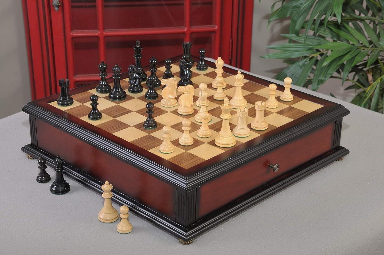 La Reykjavik II Serie Biblioteca Juego de ajedrez y tiroir ...