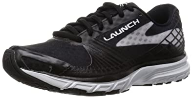7634a79e378 Brooks Women s Launch 3 Black White Sneaker 8.5 B ...