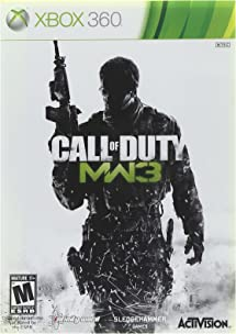 Call of Duty: Modern Warfare 3 - Xbox 360     - Amazon com
