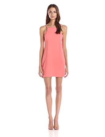 Bcbgeneration Women's Square Neck Dress, Sherbet, 0