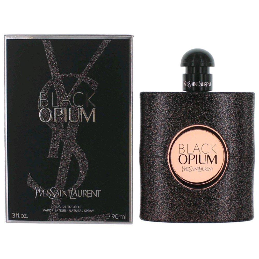 Yves Saint Laurent Black Opium Women's Eau de Toilette Spray, 3 Ounce 3614270551581 YSL00148_-90ml
