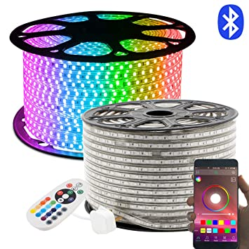 Led Strip 20m Rgb Led Lichtband Led Stripes 24 Tasten