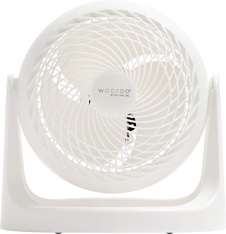 "Woozoo 7"" Blade Personal Air Circulator Fan, White PCF-HE18N"