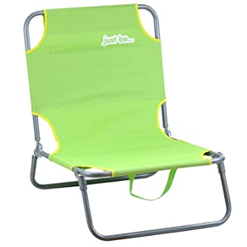 just be...…® Silla de Playa y Jardin– Verde