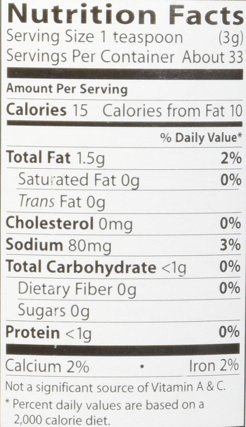 Organic Seaweed Gomasio - Sesame Seeds Seaweed & Sea Salt 3.5 Ounce (100 Grams) Jar by Eden (Image #2)