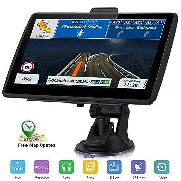 Navegación GPS para Coche, GPS HD de 7 Pulgadas, navegación ...