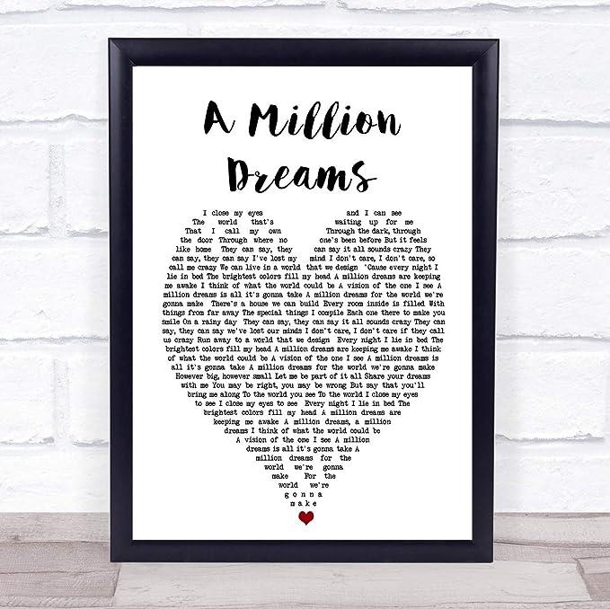 songtext a million dreams