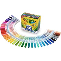 Crayola Ultra Clean Washable Markers, Kids Indoor Activities At Home, Broad Line, 40 Classic Colors