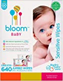 Amazon Price History for:bloom BABY Sensitive Skin Unscented Hypoallergenic Baby Wipes, 640-Count