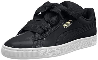 les ventes chaudes 3249a a0544 Puma Basket Heart Patent Jr, Sneakers Basses Mixte Enfant