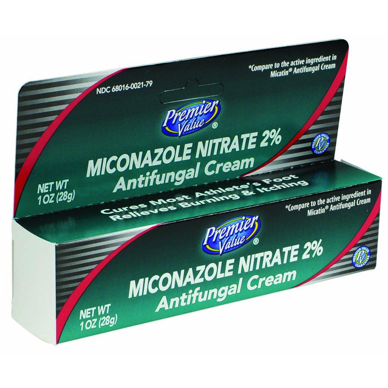 Premier Value Miconazole Nitrate Cream 2% - 1oz on Galleon ...