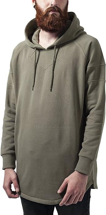 Urban Classics Long Shaped Hoody Sweat Shirt à Capuche Homme