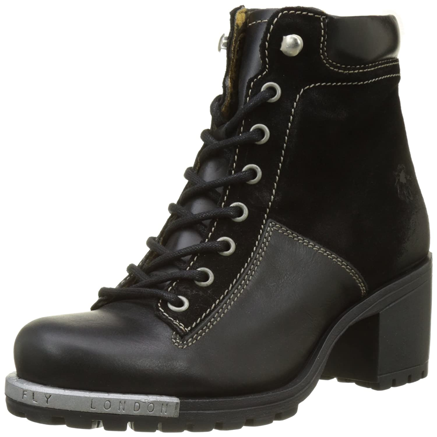 Fly London Leal689fly, Botas para Mujer41 EU|Negro (Black)
