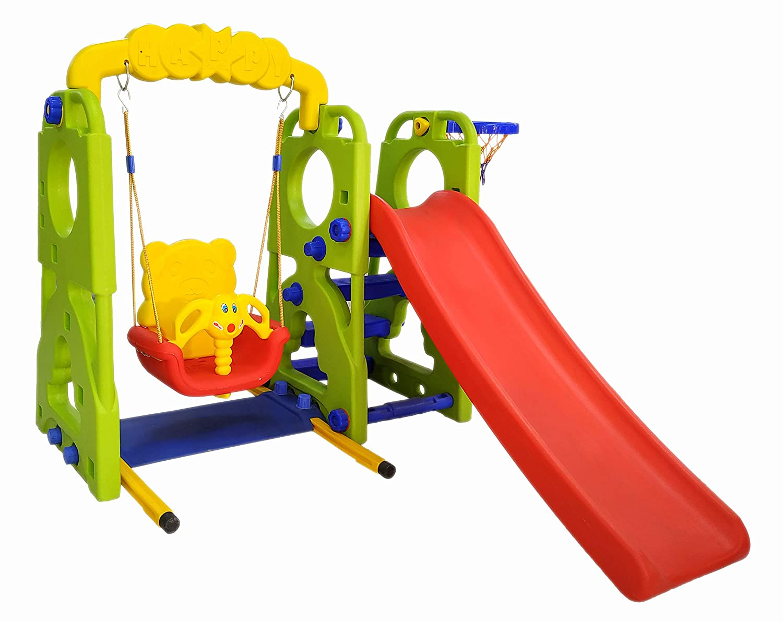 Ehomekart Garden Slide And Swing Combo For Kids - Playtool