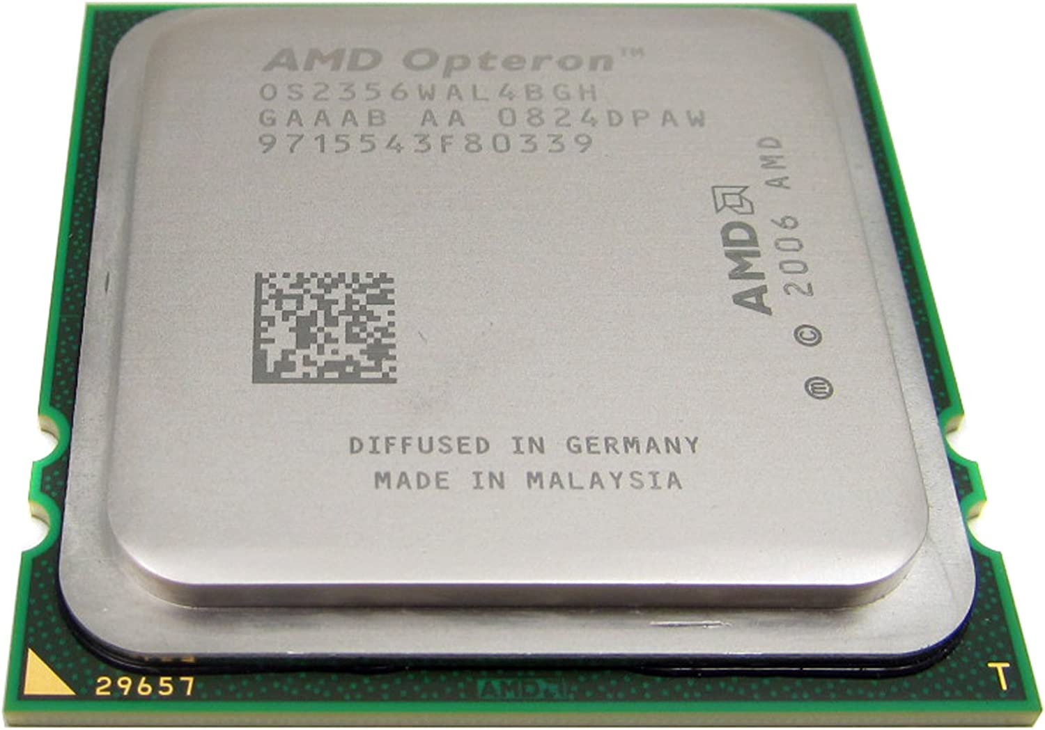 Amazon Com Amd Opteron Quad Core 2356 2 30ghz Processor Os2356wal4bgh Computers Accessories