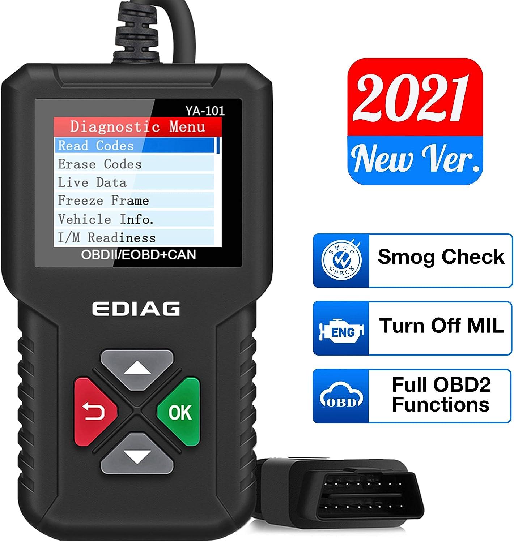 Ediag OBD2 Car Code Reader & Scanner $13.79 Coupon