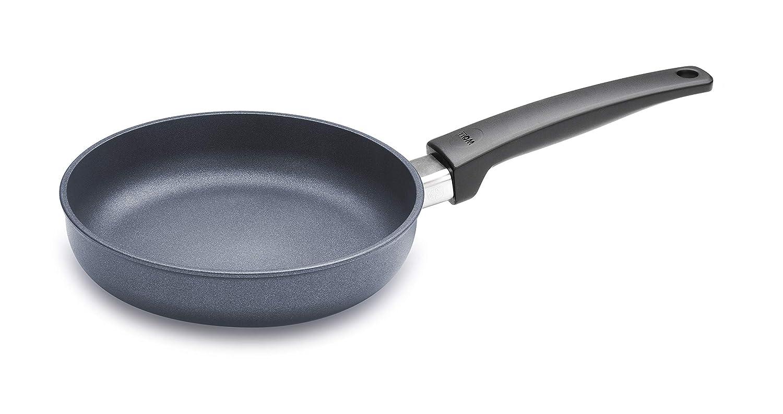 Woll Saphir Lite Induction - Sartén (hierro forjado, para cocinas de inducción, manjo fijo): Amazon.es: Hogar