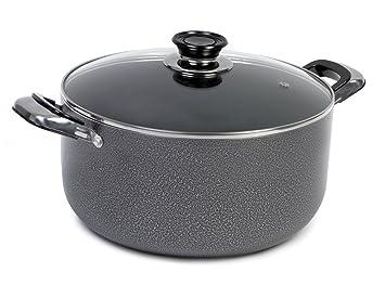 IMUSA TAD91622 - Horno holandés martillado (4,8 quart), color gris ...