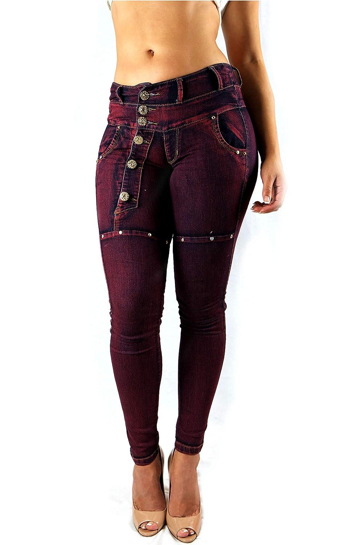 Length 32//34 La Redoute Uniross Mens Slim Fit Stretch Denim Jeans