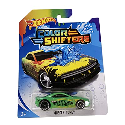 HW Color Shifters Muscle Tone Multicolor Die-Cast Vehicle 1/64 Scale: Toys & Games