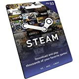 Cartão Pré-Pago STEAM Gift R$ 50 Reais