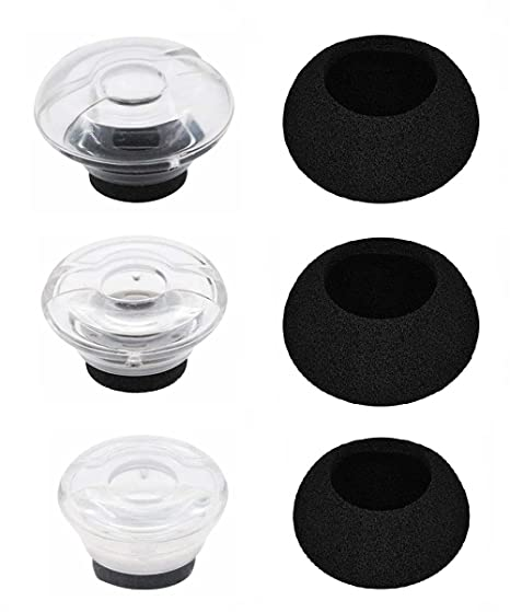 detailed look ce523 ac149 Amazon.com: JNSA Replacement eartips & Foam Covers for Plantronics ...