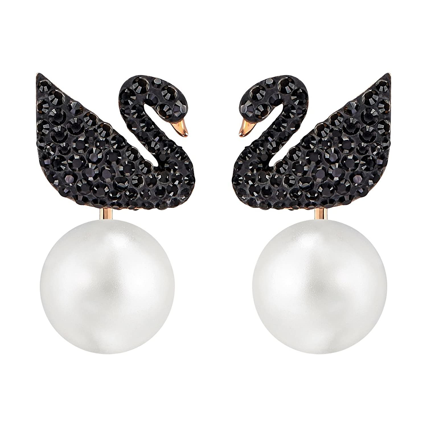Swarovski Iconic Swan Earrings - 5193949