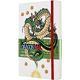 モレスキン ノート ドラゴンボール 限定版ノートブック シェンロン ハードカバー ラージサイズ 横罫 ホワイト LEDGQP060C-e