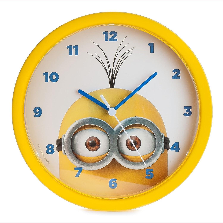 Amazon.com: Despicable Me Minions Wall Clock: Home & Kitchen