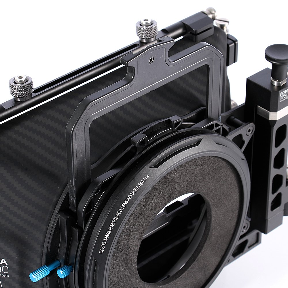 Fotga DP500 III DSLR Swing Away Matte Box + Sunshade Board +Filter Holder + 15mm Rod Adapter for Canon 5D3 BMPCC Sony A7R A7S Panasonic GH3 GH4 GH5 Camera by Fotoplaza (Image #2)