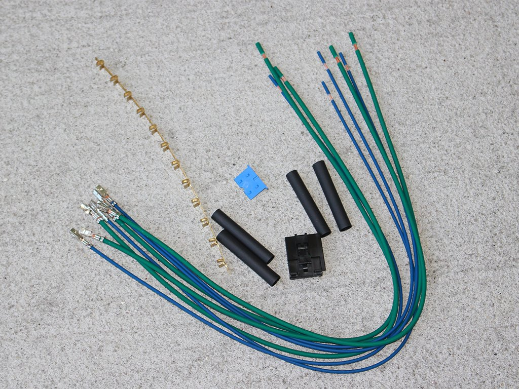 Amazon.com: Blower Motor Resistor Wiring Repair Kit fits 1997-2001 ...