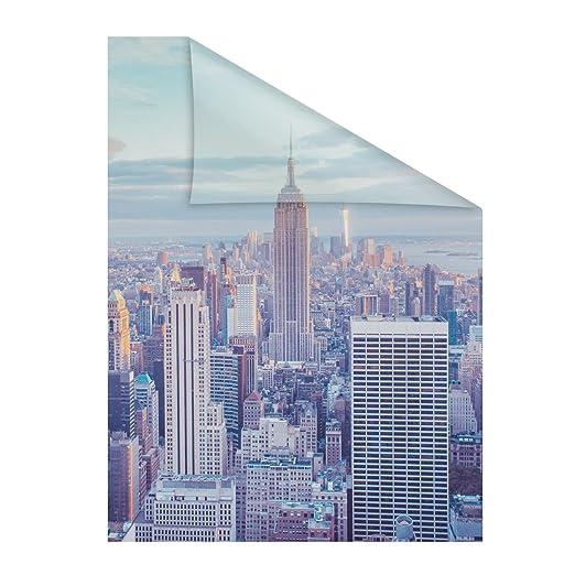 Lichtblick Fensterfolie Selbstklebend Sichtschutz Motiv New York