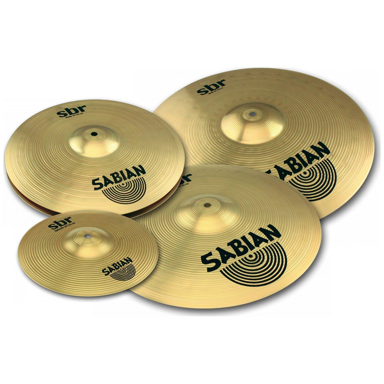 Cymbal Sabian SBR Performance Set 14/16/20 w/Free 10 Ride SBR5003G